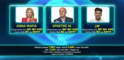 Ψηφίστε ποιος θέλετε να παραμείνει στο σπίτι του Big Brother