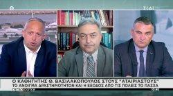 Ο Θ. Βασιλακόπουλος για το άνοιγμα δραστηριοτήτων και έξοδος από τις πόλεις το Πάσχα