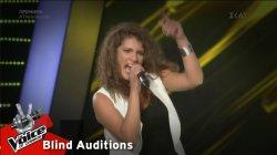 Αργυρώ Ιγκιλιζιάν - Rock And Roll   1o Blind Audition   The Voice of Greece