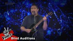 Άρνελ Λάγκεν - I Won't Give Up   2o Blind Audition   The Voice of Greece
