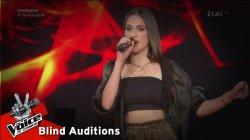 Ειρήνη Χριστοδούλου - Έλα | 1o Blind Audition | The Voice of Greece