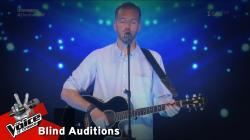 Γιάννης Σκαμνάκης - Yellow | 1o Blind Audition | The Voice of Greece