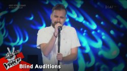 Γιάννης Καρβέλης - Εσύ εκεί | 2o Blind Audition | The Voice of Greece