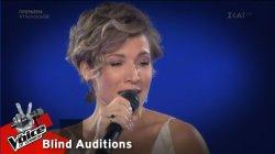 Μυρτώ Σπυροπούλου - Seven Nation Army   1o Blind Audition   The Voice of Greece