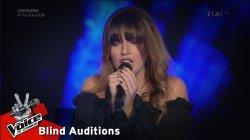Βέρα Ζάγκαλη - Still Got The Blues | 1o Blind Audition | The Voice of Greece