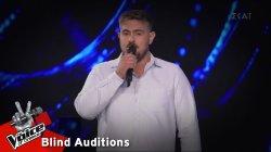 Αντώνης Αχτύπης - Μια νύχτα ζόρικη | 10o Blind Audition | The Voice of Greece