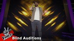 Αποστόλης Διαμαντόπουλος - My Melancholy Blues | 7o Blind Audition | The Voice of Greece