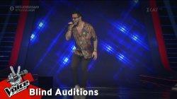 Κωνσταντίνος Φραντζής - Lonely Boy | 3o Blind Audition | The Voice of Greece