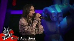 Γεωργία Θεοδούλου - Αγάπησε Με | 8o Blind Audition | The Voice of Greece