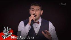 Γιάννης Τσαρσιταλίδης - Hijo de la luna | 10o Blind Audition | The Voice of Greece