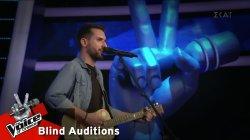 Γιώργος Ευθυμιάδης - John the Revelator | 10 o Blind Audition | The Voice of Greece