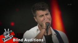 Chris Hawks - Old Town Road | 4o Blind Audition | The Voice of Greece
