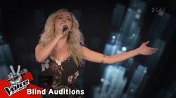 Κατερίνα Μελίτη - Έλα   9o Blind Audition   The Voice of Greece