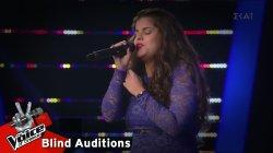 Κωνσταντίνα Κατσουλάκου - Hopelessly devoted to you | 10o Blind Audition | The Voice of Greece
