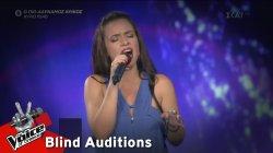 Κωνσταντίνα Κορδούλη - O Pastor | 3o Blind Audition | The Voice of Greece