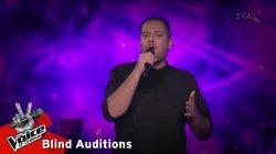 Κωνσταντίνος Κορίτσας - Σαν άνεμος | 10o Blind Audition | The Voice of Greece