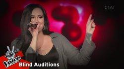 Μαρίνα Δρεσίου - Still Loving You | 8o Blind Audition | The Voice of Greece