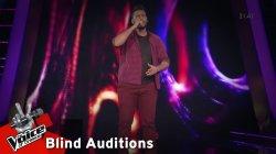 Κωνσταντίνος Μαθιουδάκης - Που 'σαι Θανάση | 7o Blind Audition | The Voice of Greece