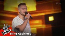 Μάκης Μέρας - Το μαντήλι   9o Blind Audition   The Voice of Greece