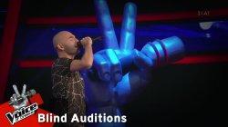 Γιώργος Μεταξάς - Εμένα μόνο | 6o Blind Audition | The Voice of Greece