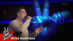 Νάσος Νικολαϊδης - Στην καρδιά | 10o Blind Audition | The Voice of Greece