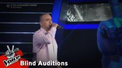 Δάνης Νικολαΐδης - Κάτω απ' το πουκάμισό μου | 3o Blind Audition | The Voice of Greece