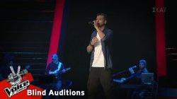 Νίκος Χατζηδημητρίου - Πες κάτι   9o Blind Audition   The Voice of Greece