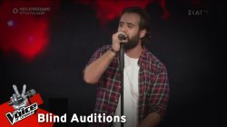 Θαρρενός Περίδης - Zombie | 3o Blind Audition | The Voice of Greece