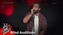 Θαρρενός Περίδης - Zombie | 3o Blind Audition | The Voice of Greece