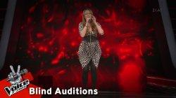 Ναταλία Πετροπούλου - Novembre  | 7o Blind Audition | The Voice of Greece