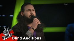 Σόλωνας Ιωάννου - Radioactive | 7o Blind Audition | The Voice of Greece