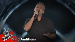 Γεώργιος Στραβουδάκης - Μη μου θυμώνεις μάτια μου   9o Blind Audition   The Voice of Greece