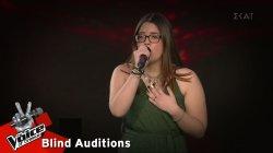 Τόνια Μακεδόνα - Always remember us this way | 10o Blind Audition | The Voice of Greece