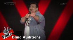 Κωνσταντίνος Τσιμούρης - Girls Like You | 3o Blind Audition | The Voice of Greece