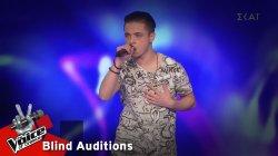 Αναστάσιος Τσολακίδης - Never Really Over   5o Knockout   The Voice of Greece