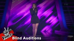 Τζώρτζια Τζελάτη - You Can Leave Your Hat On | 4o Blind Audition | The Voice of Greece