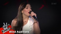 Μαριαλένα Τζιβανάκη - Mad World | 8o Blind Audition | The Voice of Greece