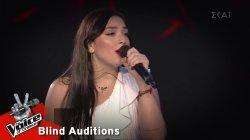 Μαριαλένα Τζιβανάκη - Mad World | 8o Blind Audition | The Voice of Greece