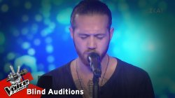 Βασίλης Κατσούλας - Say something | 5 o Knockout | The Voice of Greece