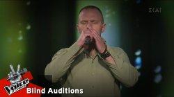 Βασίλης Τσακίρης - Σύνορα η αγάπη δεν γνωρίζει | 10o Blind Audition | The Voice of Greece