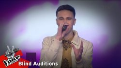 Στέφανος Χριστοφόρου - Cry me a River | 8o Blind Audition | The Voice of Greece