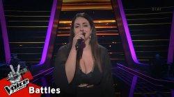 Βάλια Αλεξίου - Δεν είμαι εγώ | 3o Knockout | The Voice of Greece