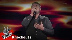Αντώνης Αχτύπης - Της είπα μια νύχτα να μείνει | 2o Knockout | The Voice of Greece