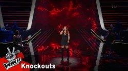 Ερωφίλη Τζάνου - Τρένο | 1o Knockout | The Voice of Greece