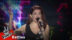 Εύα Βλαχοπούλου - Μαντάμ Σουσού | 3o Knockout | The Voice of Greece