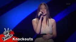Κωνσταντίνα Ευαγγελοπούλου - My all | 4o Knockout | The Voice of Greece
