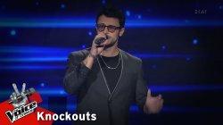 Κωνσταντίνος Φραντζής - Που να εξηγώ | 1o Knockout | The Voice of Greece