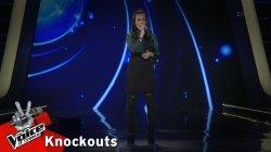 Ρίτα Γεώργα - Το χειροκρότημα | 1o Knockout | The Voice of Greece