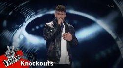 Λάμπης Γιακουμάκης- Δε μιλάμε | 1o Knockout | The Voice of Greece