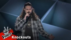 Σόλωνας Ιωάννου - Turn The Page | 1o Knockout | The Voice of Greece